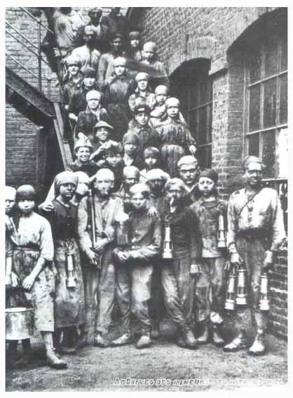 les enfants 224 la mine